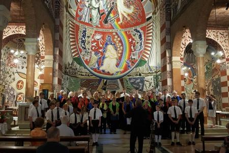 Koorreis 2018 Aveyron - Verona - Schweiz