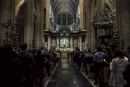 Paaswake Sint-Baafs-Kathedraal Gent