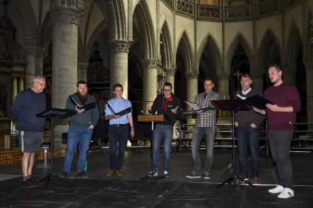 repetitie Jubelconcert 3 mei 2019