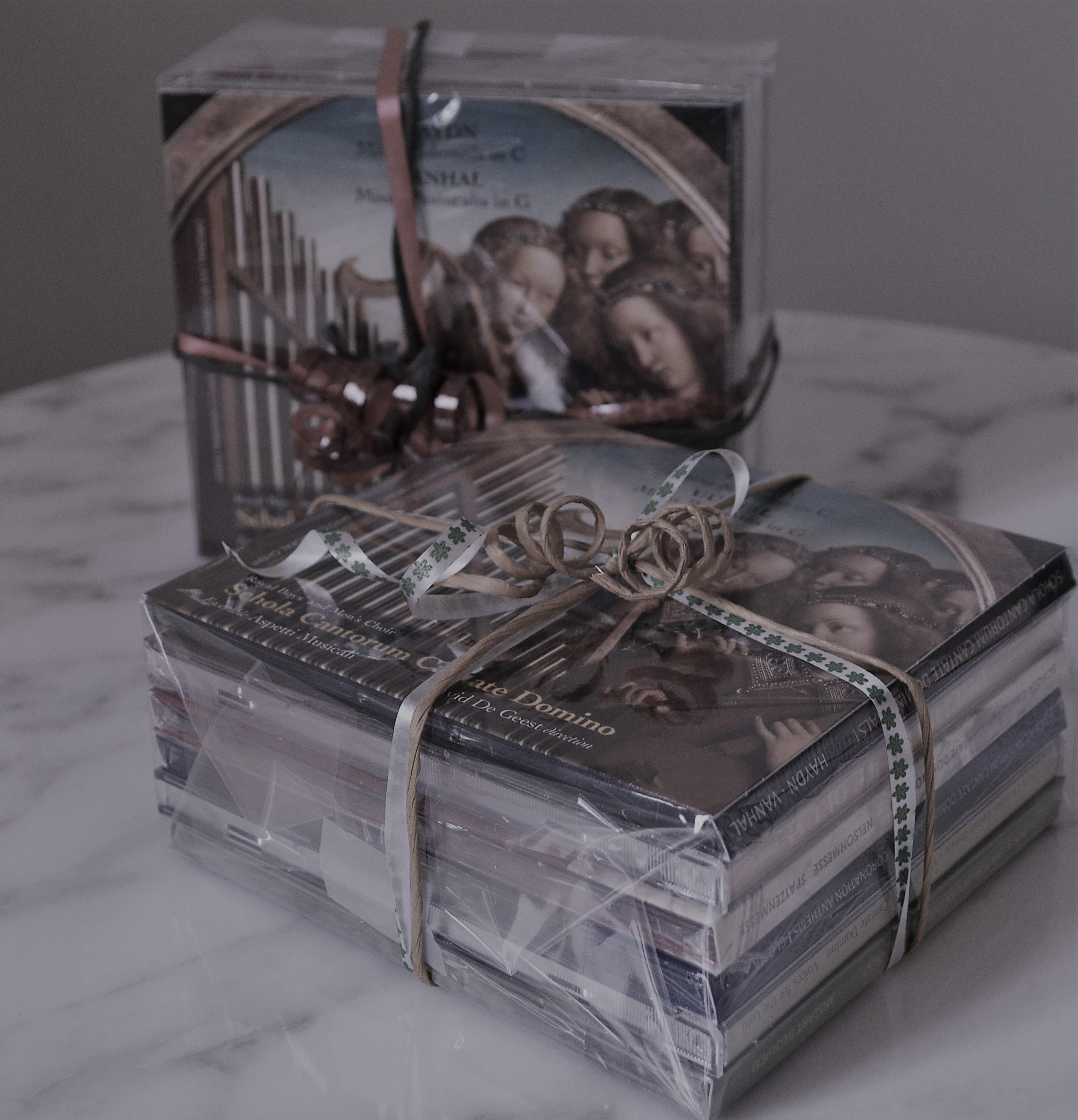Verzameling van 6 CD's